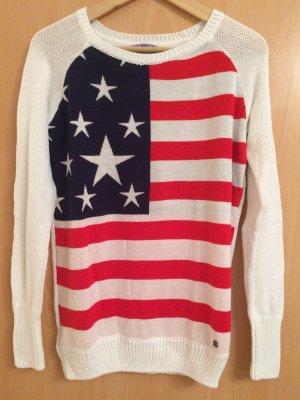 Longshirt Amerika Flagge