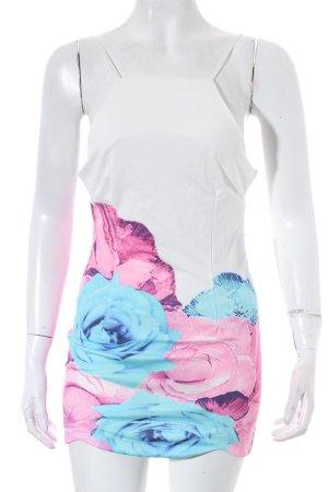 Longshirt Blumenmuster Romantik-Look