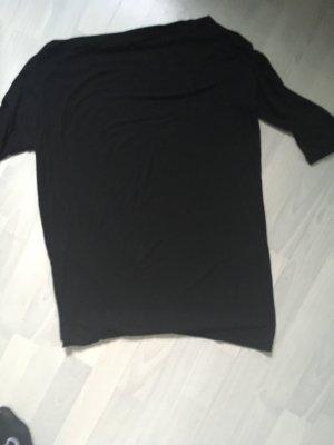 Kontatto Lang shirt zwart Viscose