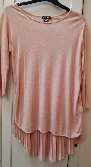 Amisu Long Shirt dusky pink