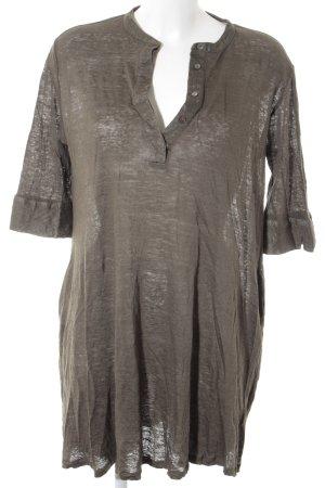 Longshirt dunkelgrün Casual-Look