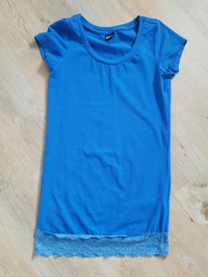 Chillytime Haut long bleu fluo coton