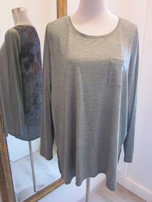 Longshirt grün mit tollem Rücken Gr 44/46