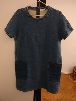 Longshirt Jeans Denim Kleid Oberteil von MAX&Co.
