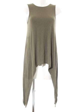 Lang shirt khaki casual uitstraling