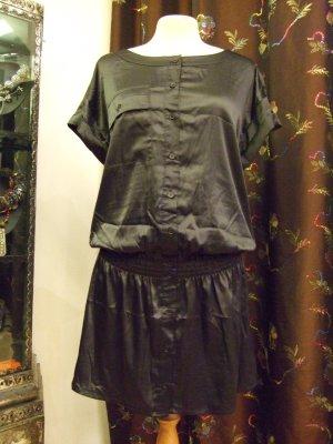 Longshirt Kleid Black Gr. 36 Neu