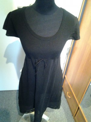 Longshirt, Minikleid, Pulli in schwarz in S/M