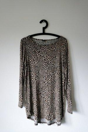 Longshirt mit Animalprint