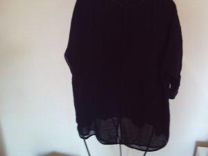 Longshirt mit durchsichtigen Rücken