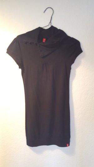 Longshirt mit kurzen Ärmeln