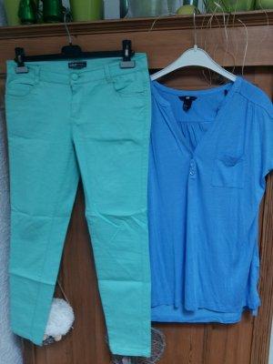 Longshirt mit lindgr.Jeans 40/M