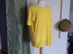 Longshirt mit seitlichen Reißverschluss