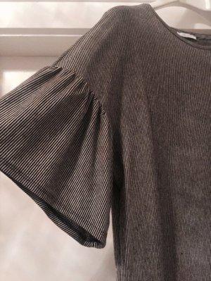 Zara Trafaluc Lang shirt zwart-wit