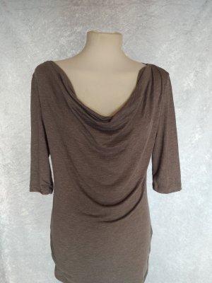 Longshirt mit Wasserfallausschnitt von Fresh Made