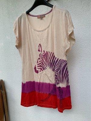 Comma Camicia lunga multicolore