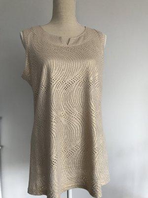 Murek Fashion Lang shirt goud Gemengd weefsel