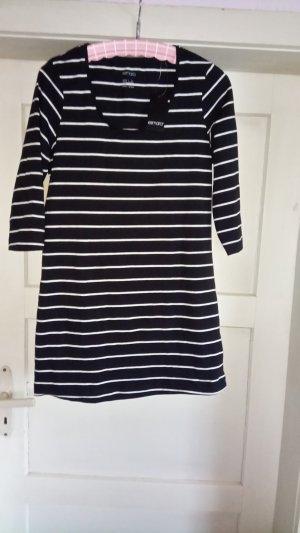 Esmara Long Shirt black-white cotton