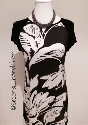 Longshirt schwarz weiß von Promod in 36