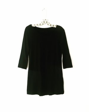 longshirt • t-shirt • top • vintage • schwarz • classy