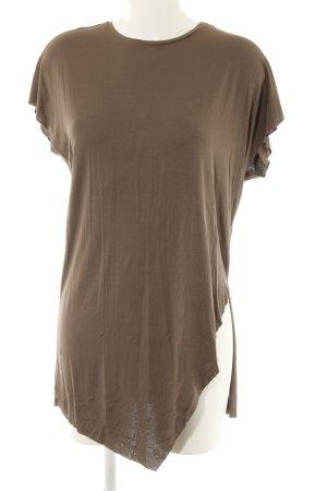 Longshirt taupe Casual-Look