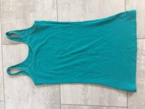 Longshirt türkis / blau von only