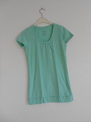 Longshirt türkis grün gr S