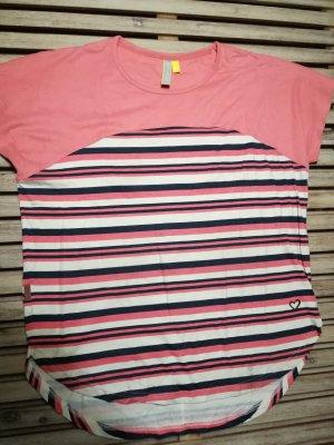 Alife & Kickin Camicia lunga multicolore Cotone