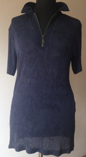 Best Connections Long Shirt dark blue mixture fibre