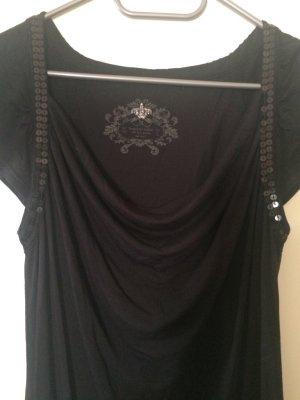 edc by Esprit Lang shirt zwart