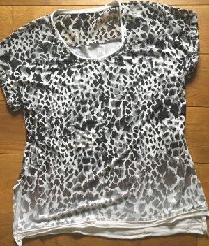 Longshirt von Karen Millen GR. 40 schwarz/weiß/grau wie neu