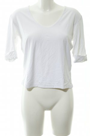 Camisa larga blanco look casual
