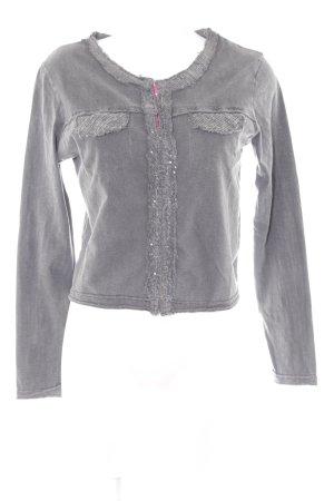 Longsleeve dark grey street-fashion look