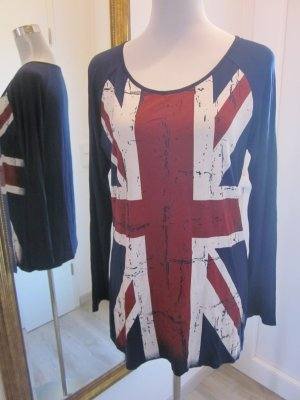 Longsleeve Langarmshirt Union Jack Britische Flagge Gr 44