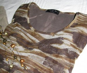 Longsleeve Mesh-Shirt Camouflage Muster Casual-Look, Military-Look
