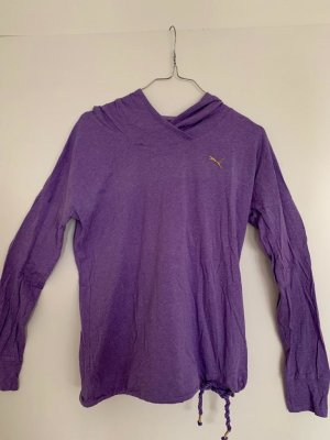 Puma Hooded Shirt lilac