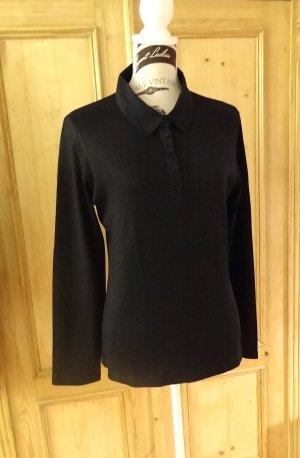 Longsleeve, Poloshirt - Jersey mit Baumwollkragen
