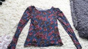 Longsleeve Pullover mit Blumenmuster