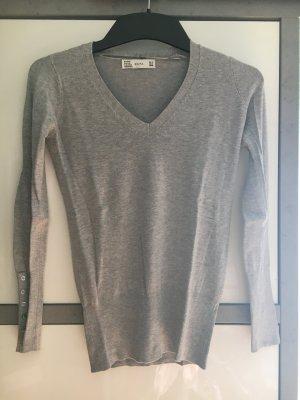 Longsleeve Pullover mit Knöpfen