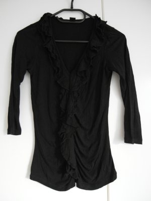 Longsleeve, schwarz, Größe 34, Marke S oliver Selection