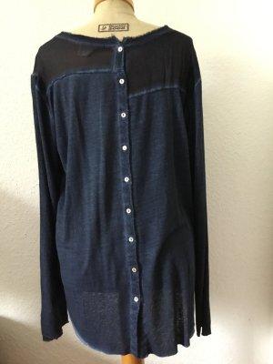 Longsleeve Shirt Leinen/Viskose