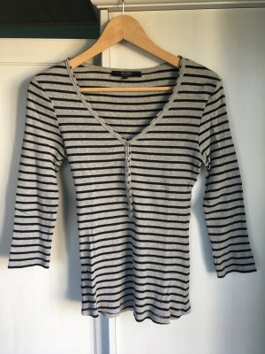 Longsleeve Shirt Longshirt Ringelshirt Rippshirt Hallhuber S