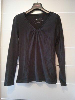 Longsleeve / Shirt / Pullover von QS by s.Oliver, Größe L / 40, schwarz