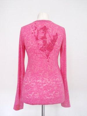 Longsleeve Tom Tailor Denim, Pink Camouflage Gr. L/42