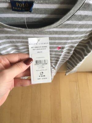 Polo Ralph Lauren Camisa de rayas blanco-gris claro