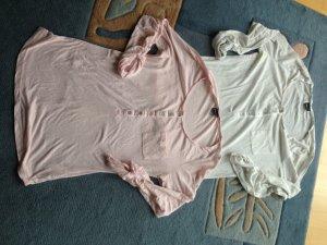 Longsleeves rosa/weiß Gina Tricot