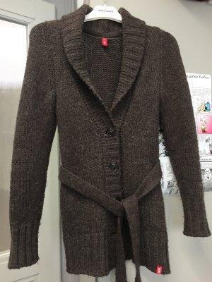 Esprit Veste en laine gris-gris foncé