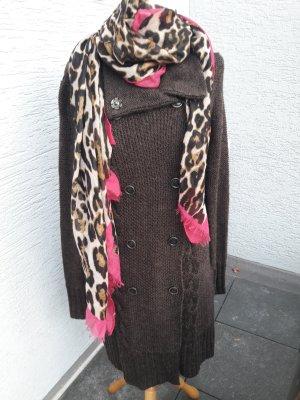 Giacca di lana marrone