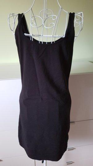 H&M Top long noir coton