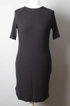 Vestido estilo camisa negro