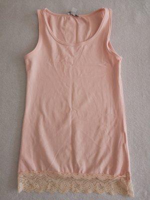 Amisu Camisa larga rosa claro